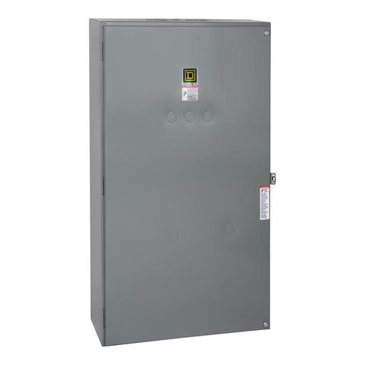 Mayer-Contactor, Type S, multipole lighting, mechanically held, 200A, 3 pole, 110/120 VAC 50/60 Hz coil, NEMA 1-1