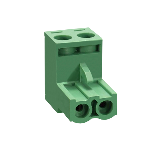 Mayer-2-pin spring terminal connector for electrical block with plug-in connection-1