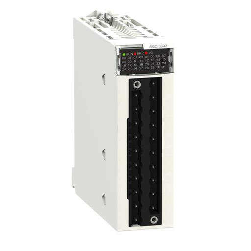 Mayer-Analog output module X80 - 8 outputs-1