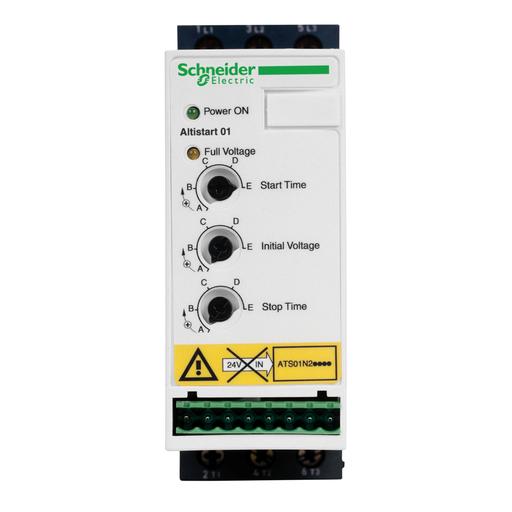 Mayer-Soft starter for asynchronous motor - ATS01 - 12 A - 460..480 V-1