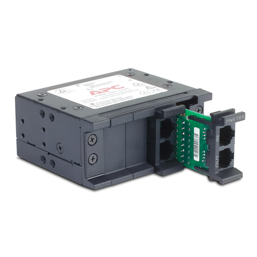 Mayer-APC 4 position chassis for replaceable data line surge protection modules, 1U-1