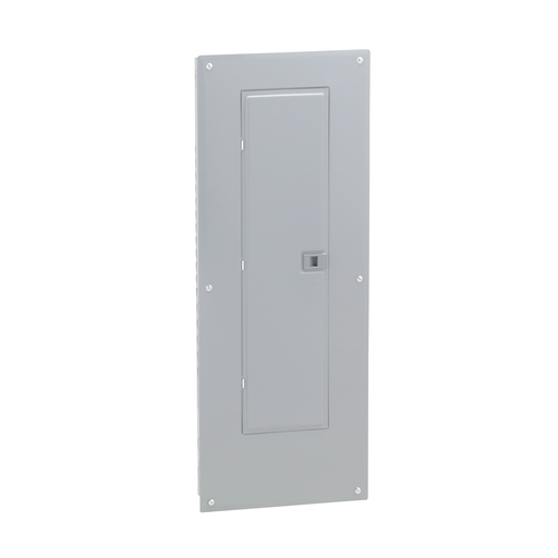Mayer-Load center, Homeline, 1 phase, 40 spaces, 80 circuits, 225A convertible main lugs, PoN, NEMA1, combo cover-1