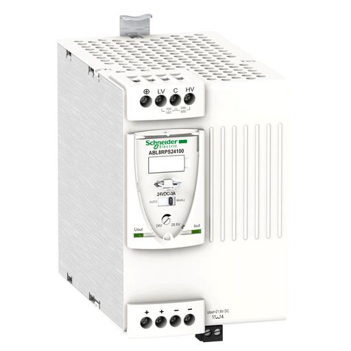 Mayer-Universal power supply, Phaseo, 1 or 2 phase, 100 to 500 V, 24 V, 10 A-1