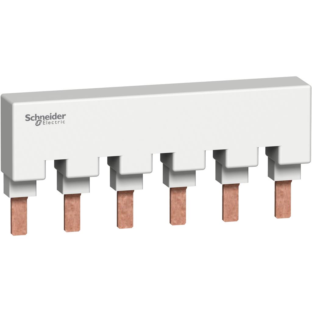 Mayer-Multi9 - comb busbar - 3L - 18 mm pitch - 6 modules - 115A-1