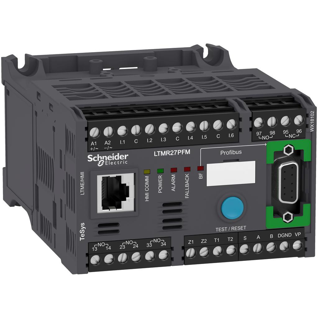 Mayer-Motor controller LTMR TeSys T - 100..240 V AC 27 A for Profibus DP-1