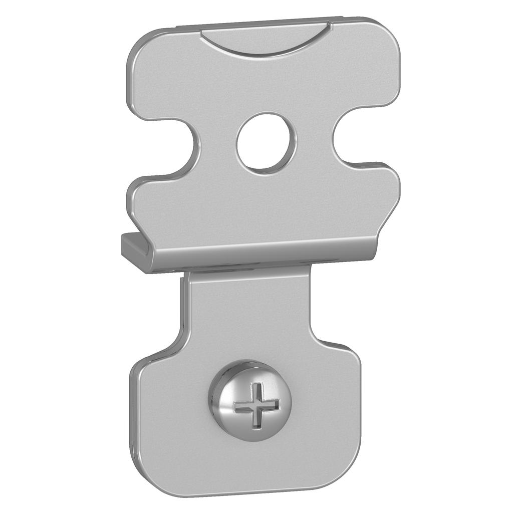 Square D NSYAEFPFSC Zinc Coated Steel Wall Mounting Lug