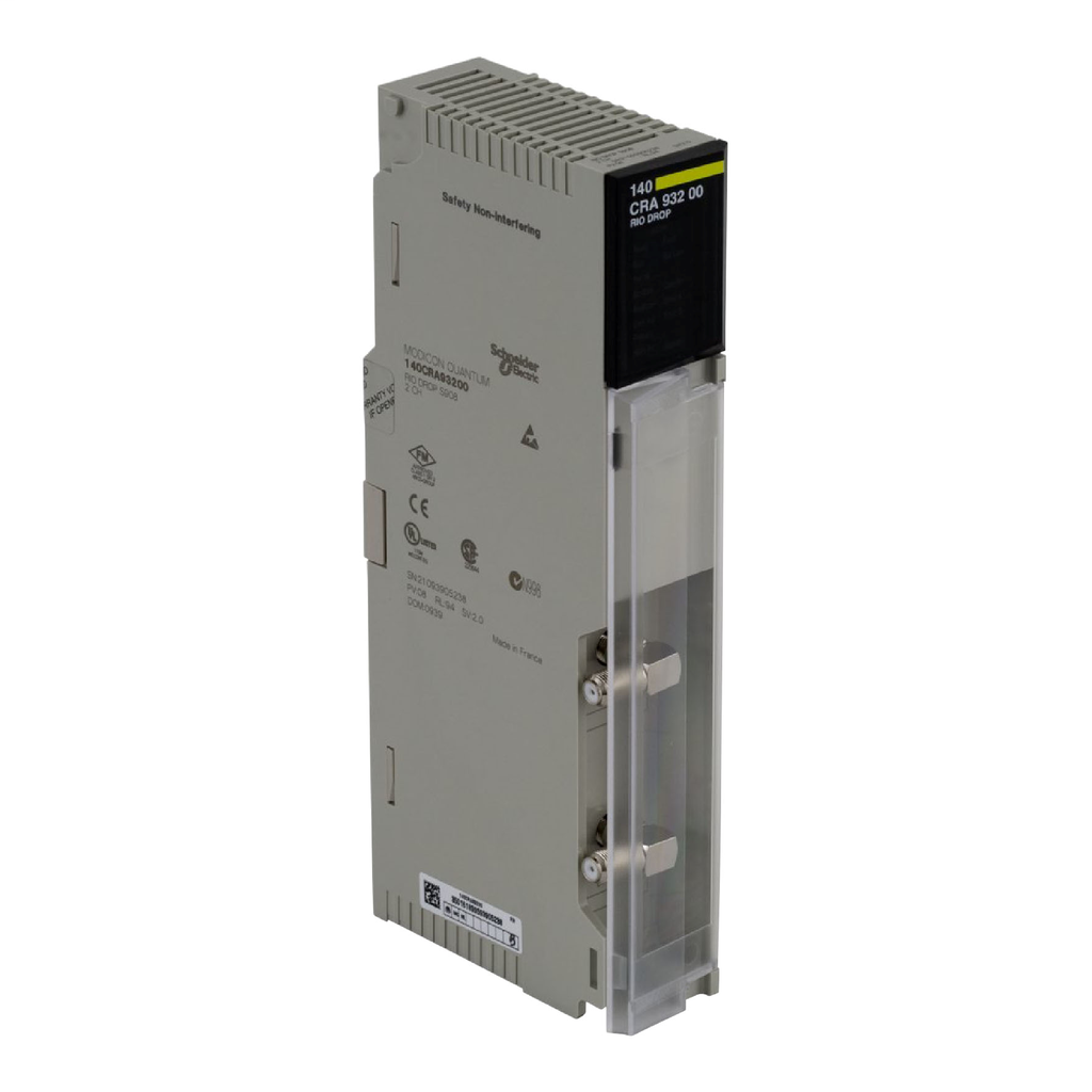 Mayer-RIO drop adaptor module Modicon Quantum - 2 connectors with redundant cable-1