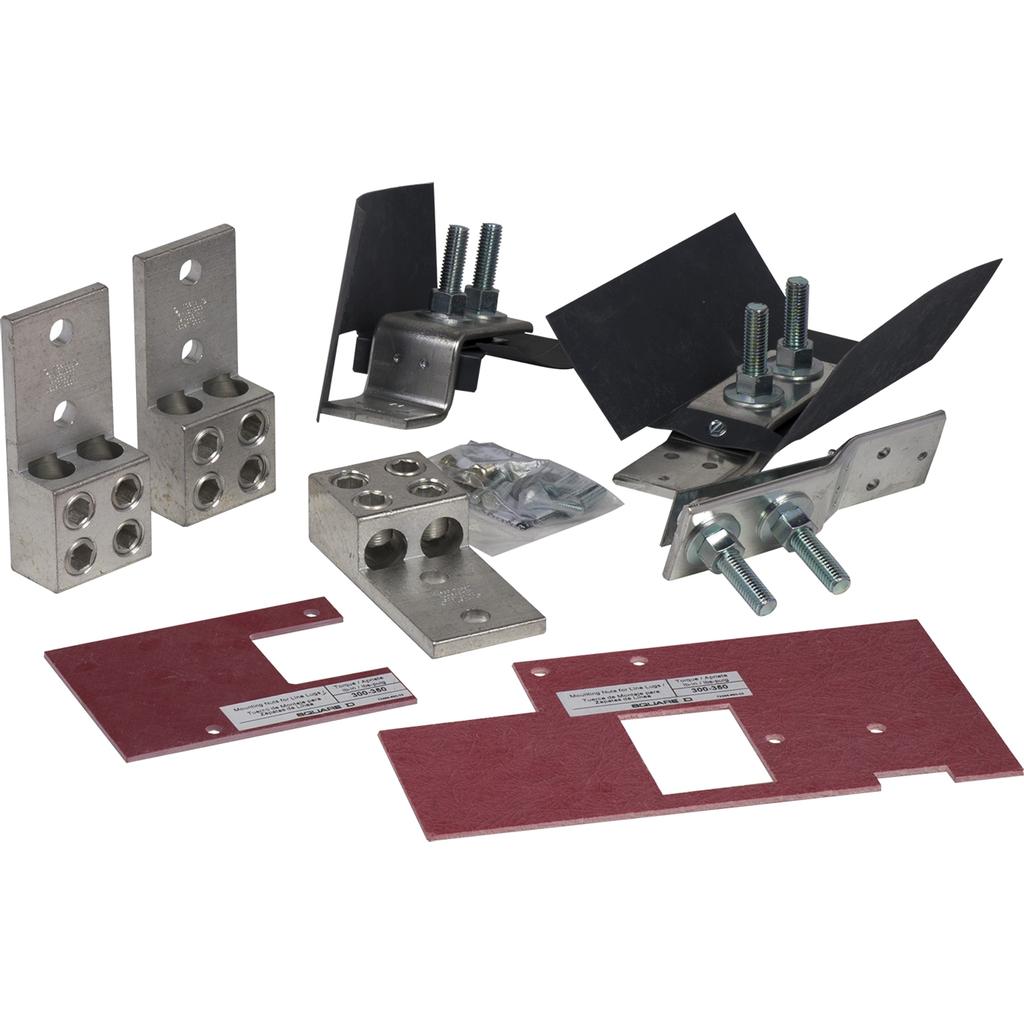Mayer-MP meter-pak - lug kit - (2) AWG 2...600 kcmil - set of 3-1