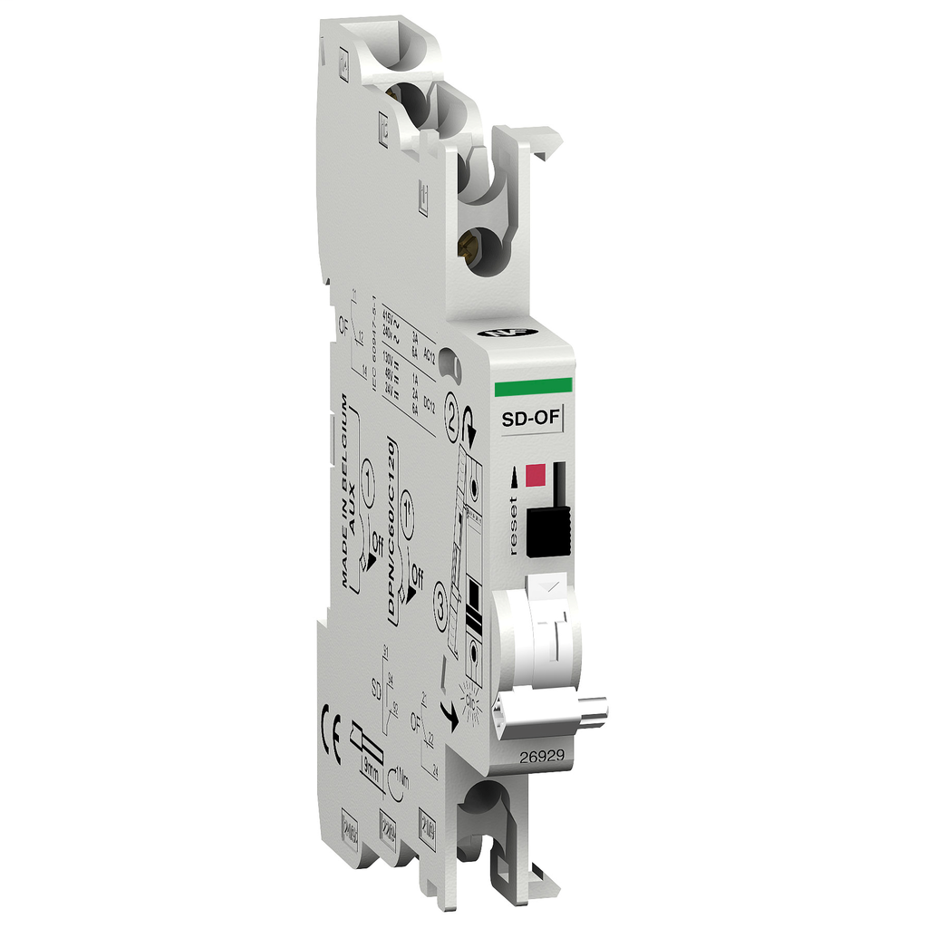 Mayer-Multi9 - double OC or fault contact - 1 OF+SD/OF - 240/415 V AC - 24/130 V DC-1