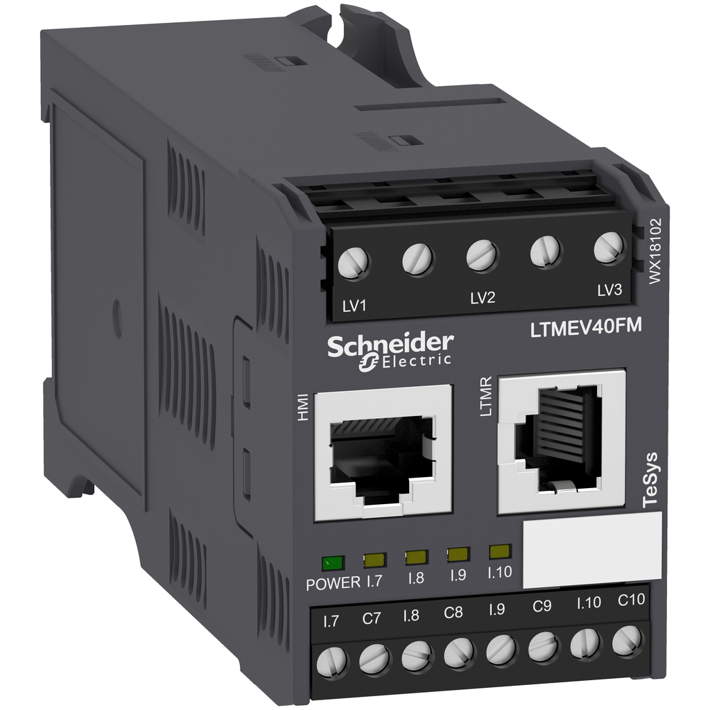 Mayer-Motor Management, TeSys T, motor controller, extension module, 4 inputs, for LTMR controller, 100 to 240 VAC-1