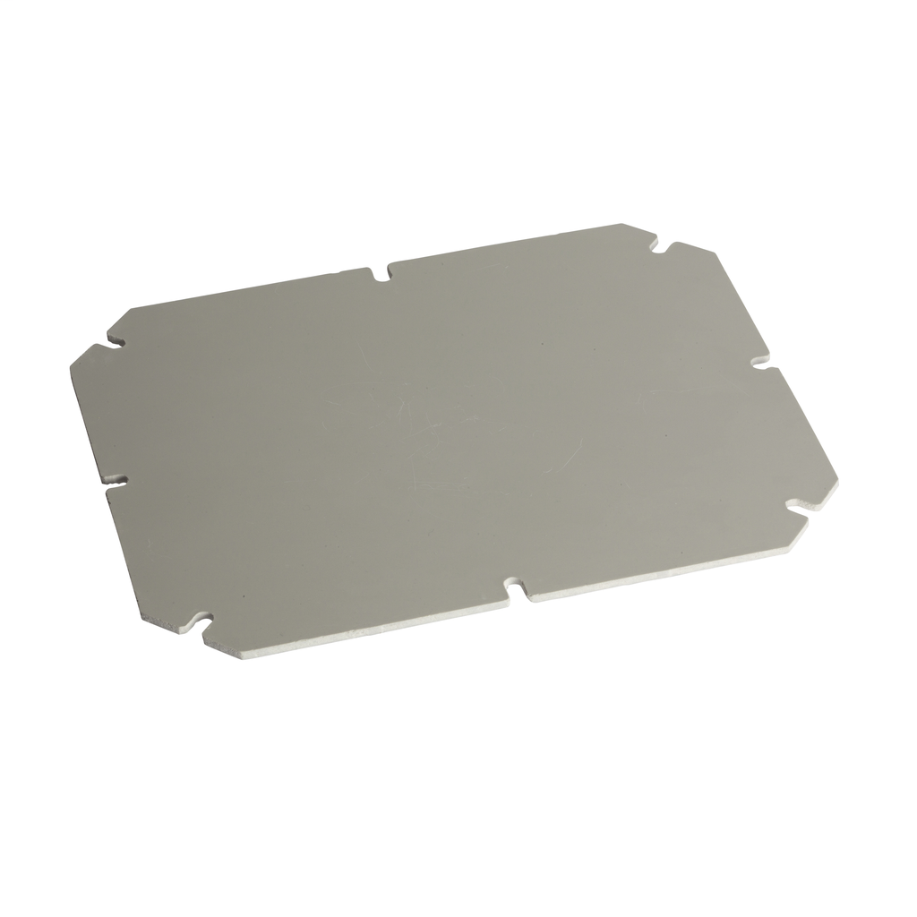 Mayer-Mounting plate in galvanized steel, thickness 1.5 mm For boxes of H325W275 mm-1