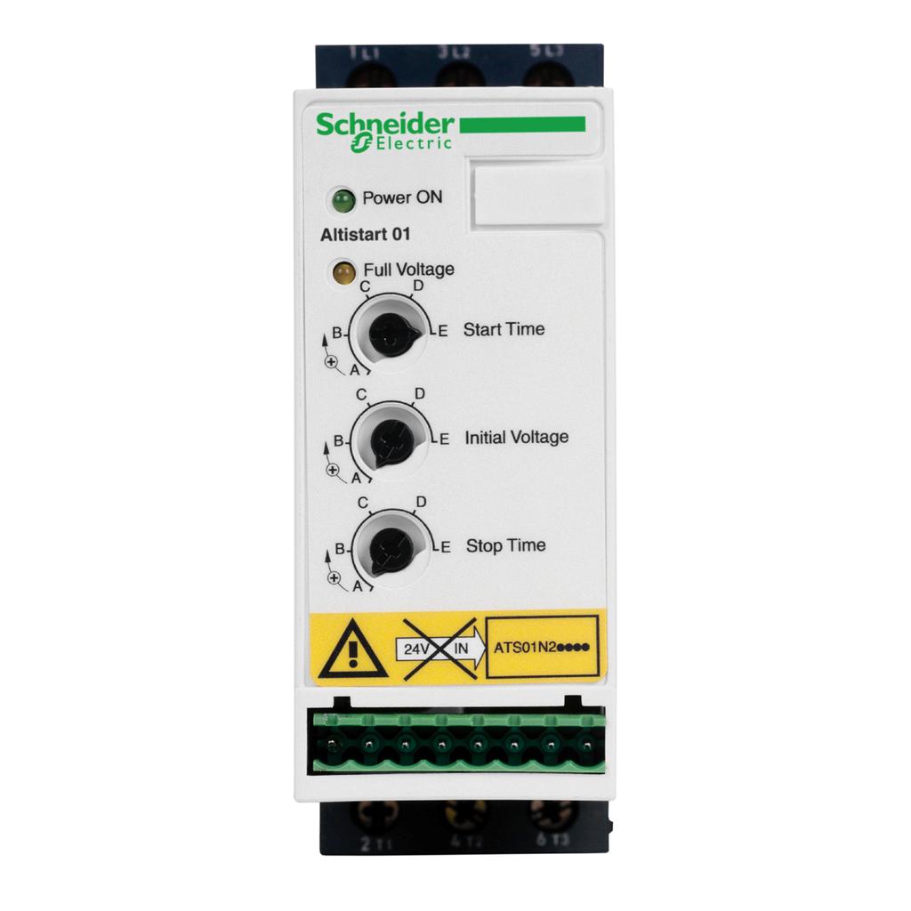 Mayer-Soft starter for asynchronous motor - ATS01 - 9 A - 460..480 V-1