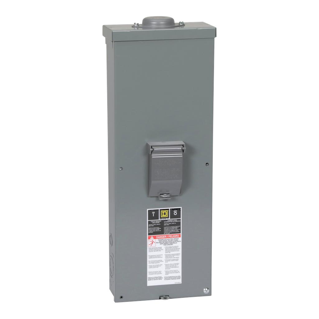 Square D QOM2E2200NRB 120/240 Volt 200 Amp 2-Pole Bolt On Outdoor Enclosed Circuit Breaker