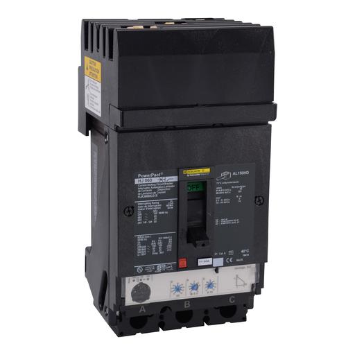 Mayer-Circuit breaker, PowerPacT H, Micrologic 3.2, I-Line, 60A, 3 pole, 25 kA, 600 VAC, phase ABC, 80% rated-1