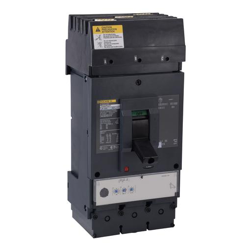 Mayer-Circuit breaker, PowerPact L, I-Line, Micrologic 3.3, 400A, 80% rated, 3 pole, 100 kA, 600 VAC, phase ABC-1