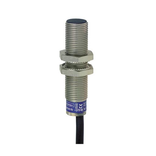 Mayer-Inductive proximity sensors XS, inductive sensor XS6 M12, L54mm, brass, Sn4mm, 12...48 VDC, cable 2 m-1