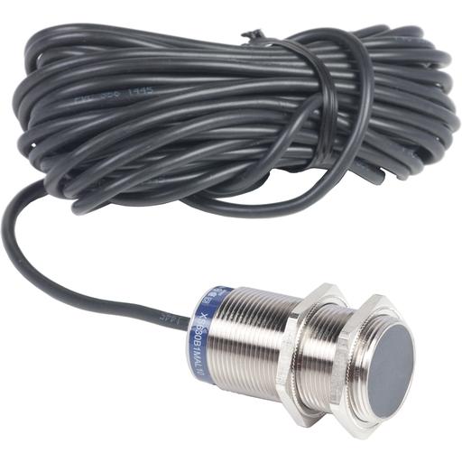 Mayer-Inductive proximity sensors XS, inductive sensor XS6 M30, L62mm, brass, Sn15mm, 24...240VAC/DC, cable 10 m-1