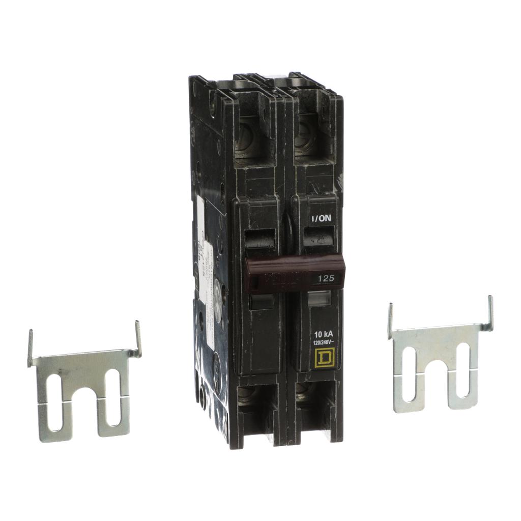 Mayer-Mini circuit breaker, QOU, 125A, 2 pole, 120/240 VAC, 10kA-1