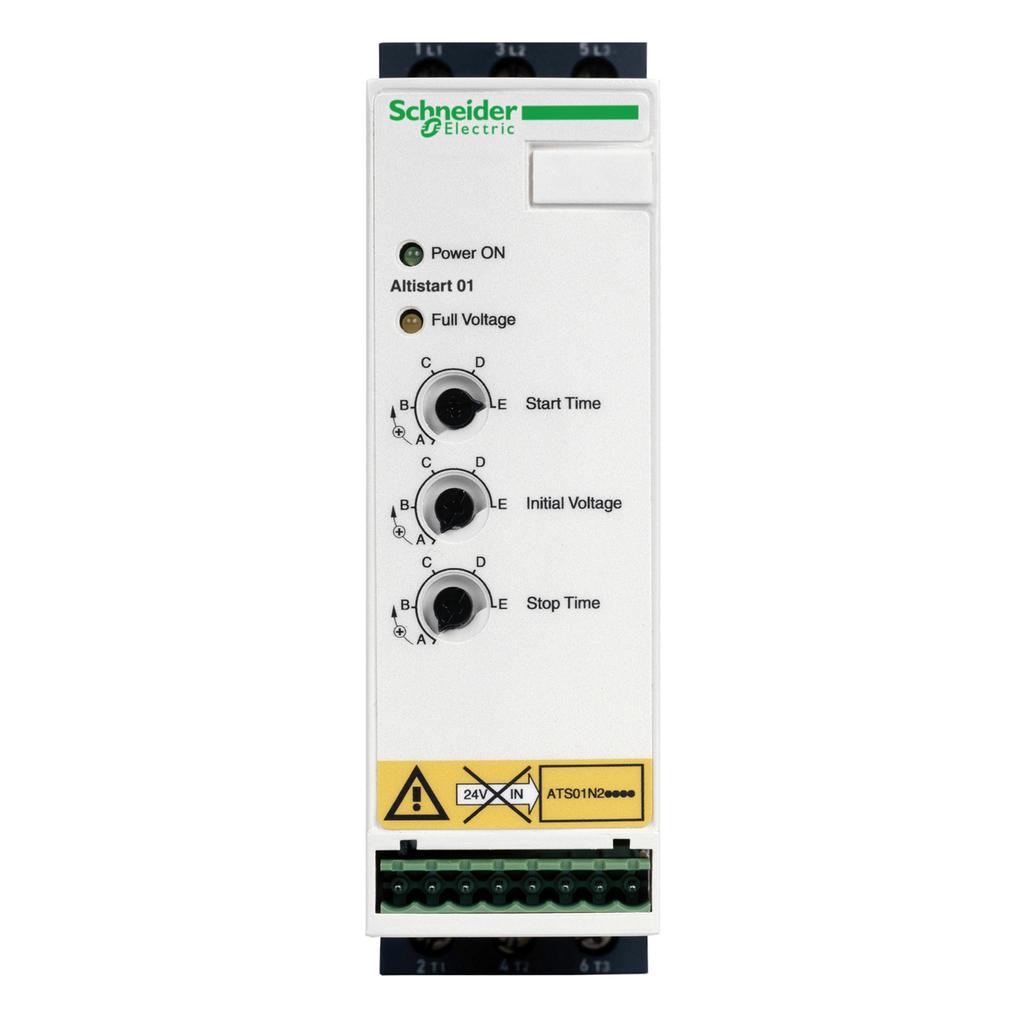 Mayer-soft starter for asynchronous motor - ATS01 - 32 A - 460..480 V-1