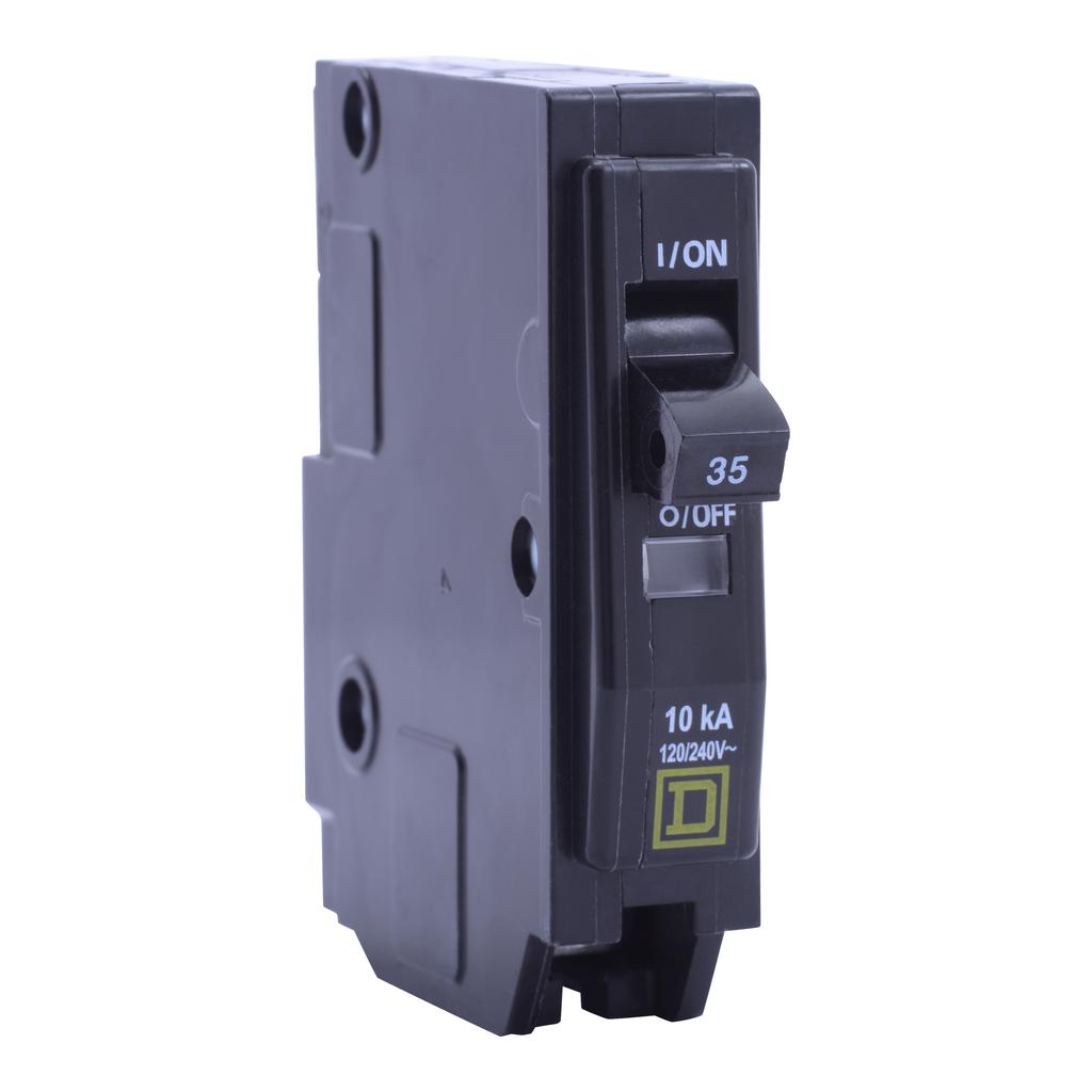 Mayer-Mini circuit breaker, QO, 35A, 1 pole, 120/240 VAC, 10 kA, plug in mount-1