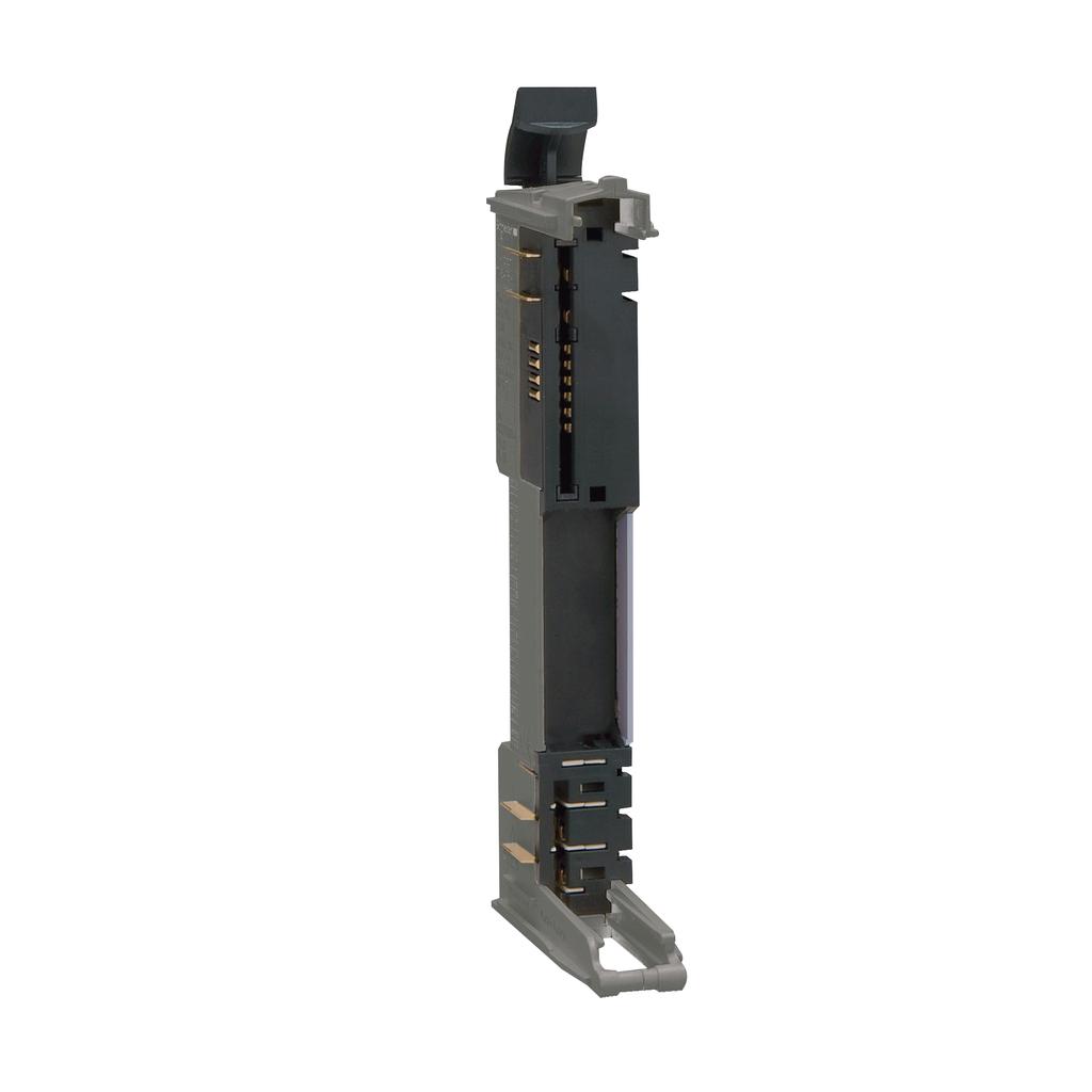 Mayer-Modicon TM5, bus base with address setting, 24 V DC, grey, quantity 1-1