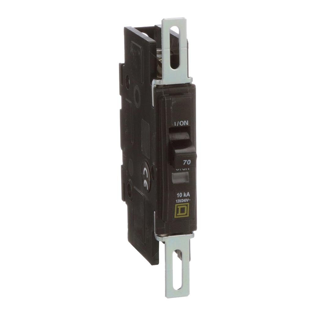 Mayer-Mini circuit breaker, QOU, 70A, 1 pole, 120/240 VAC, 10kA-1