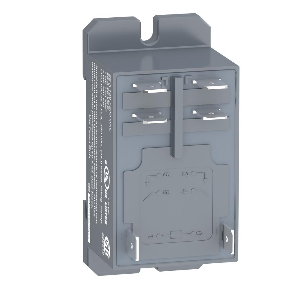 Mayer-Harmony, Power plug-in relay, 30 A, 2 NO, 24 V DC-1