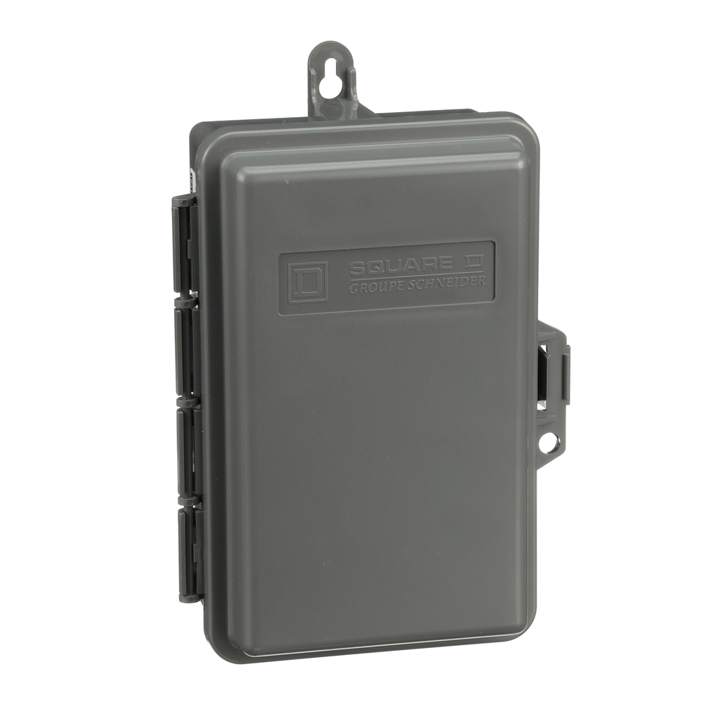 Mayer-Molded case switch, QO, 60A, 2 pole, 240 VAC, 22 kA, enclosed, air conditioning, nonmetal-1
