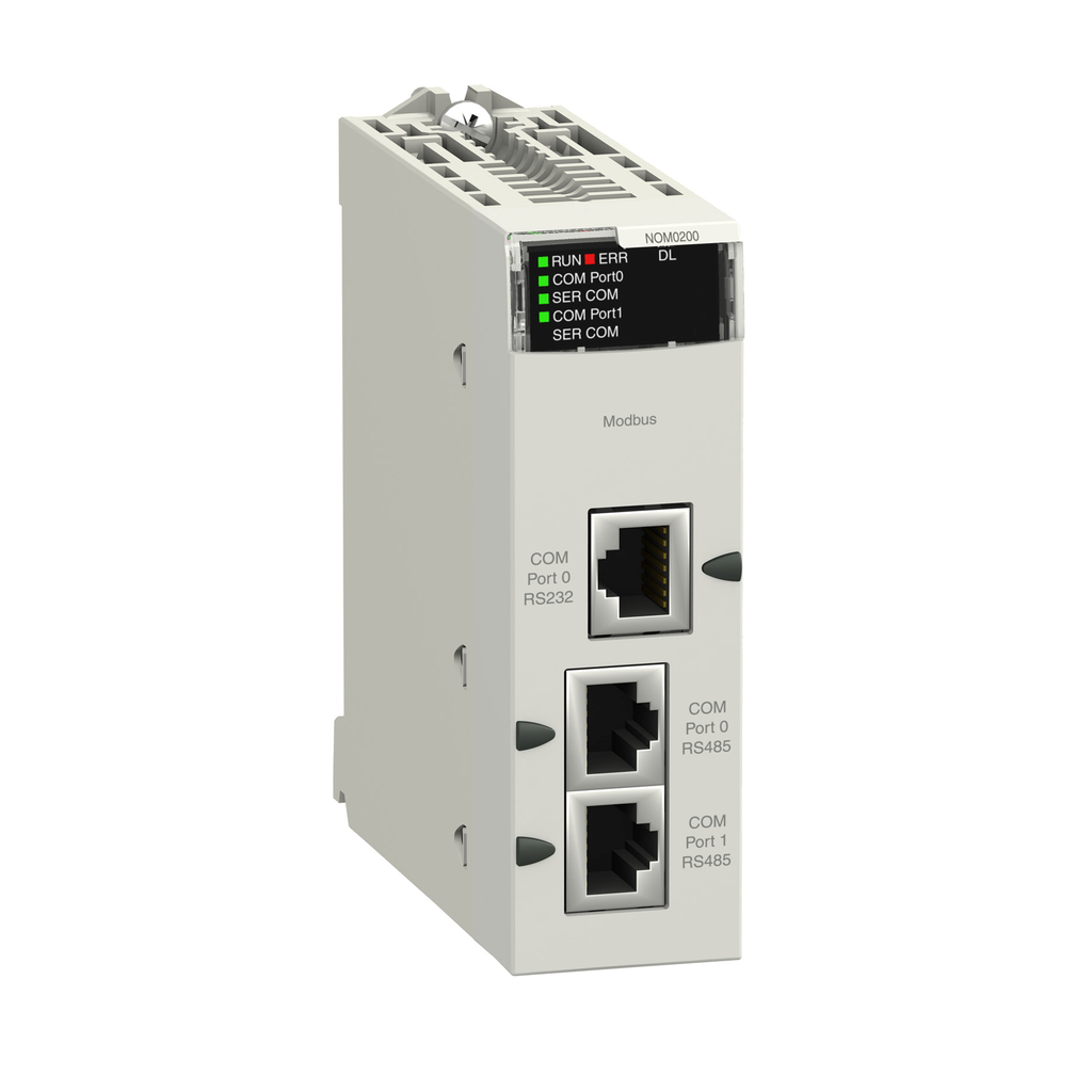Mayer-Harshed serial link module with 2 RS-485/232 ports in Modbus and Character mode-1