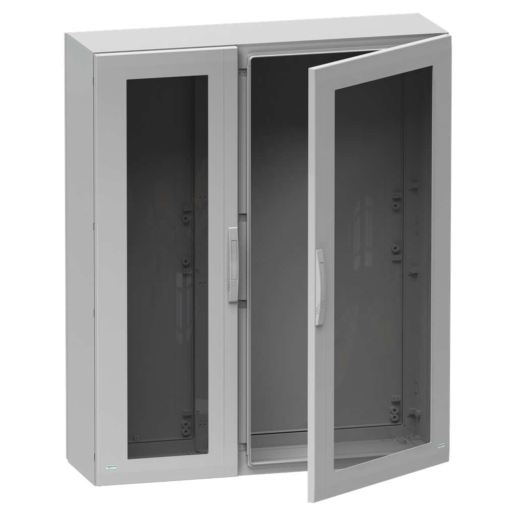 Mayer-Floor standing encl. polyester vers.PLA compl.sealed 1500x1000x420 IP65 glazed-1