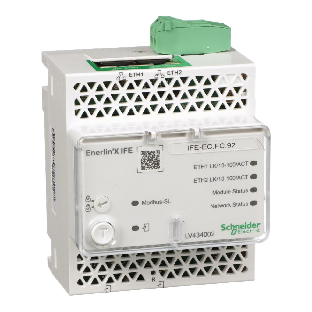 Mayer-IFE Ethernet switchboard server, Enerlin'X-1