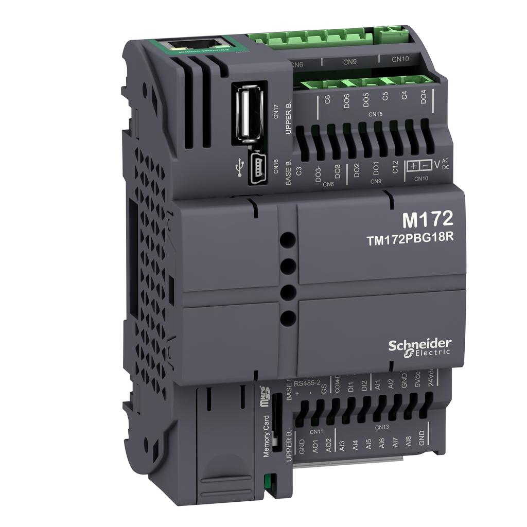 Mayer-Modicon M172 Performance Blind 18 I/Os, Ethernet, Modbus-1