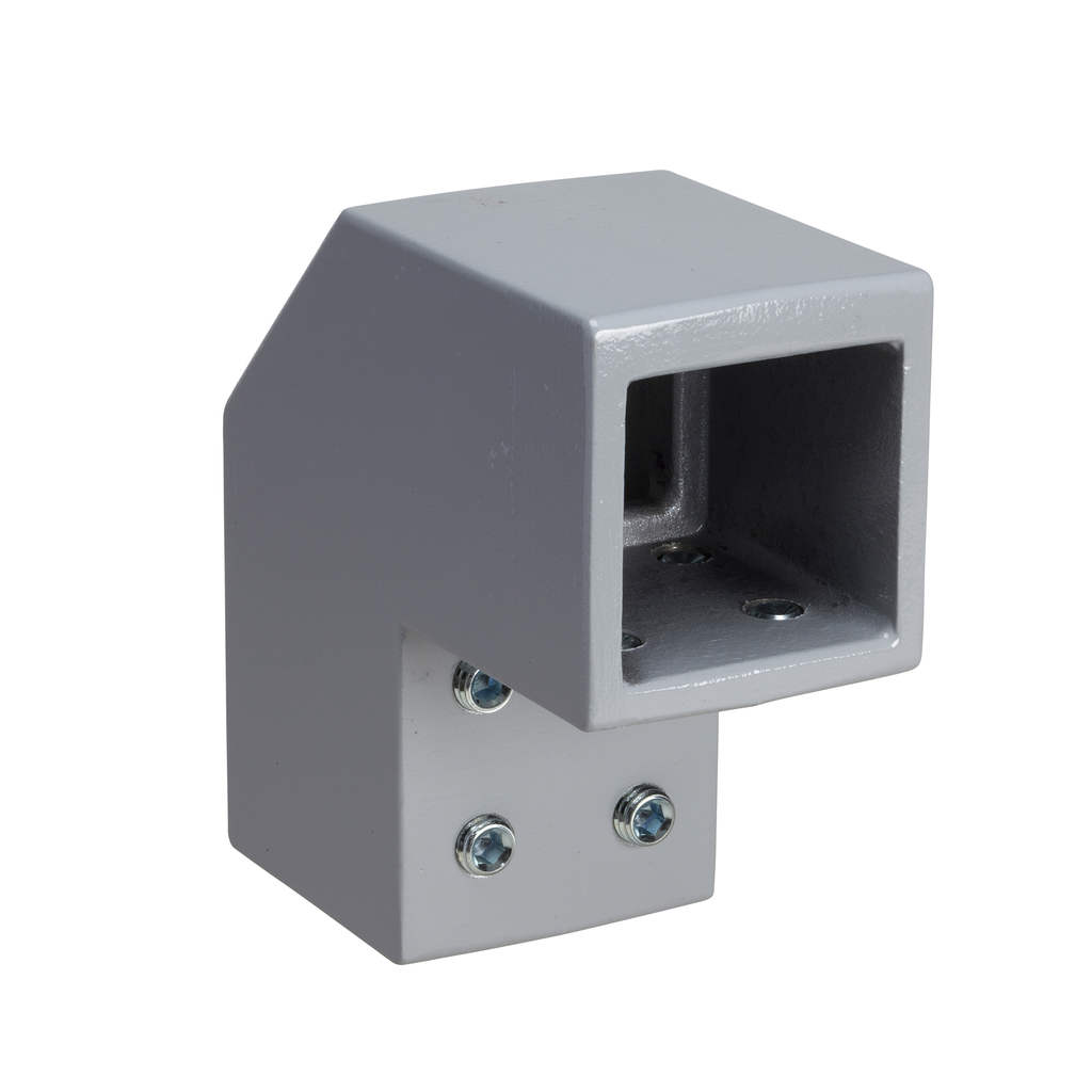 Mayer-Fixed bracket, square 50 mm RAL 7040. For SPACIAL S3CM HMI encl.-1