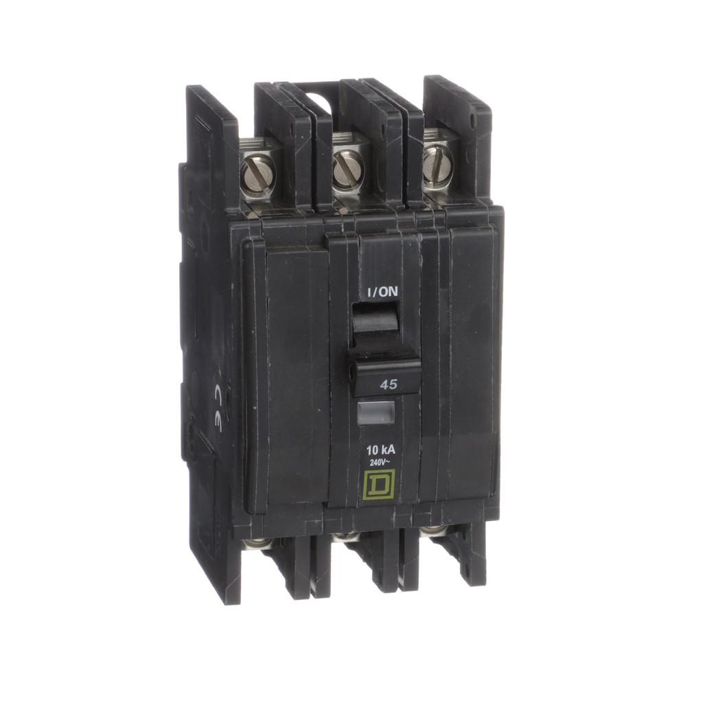 Mayer-Mini circuit breaker, QOU, 45A, 3 pole, 240 VAC, 10kA-1