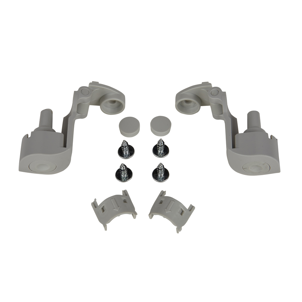 Mayer-Hinges, for cover-depth 40 mm. In thermoplastic PC with screws.-1