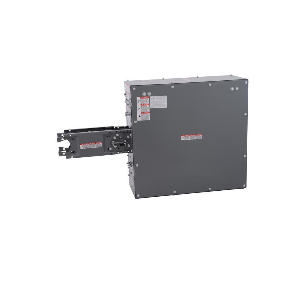 Mayer-End Tap Box - I-Line - 1000A - 3W - Al - Bolt - 29.14x11.00x28.00in-1