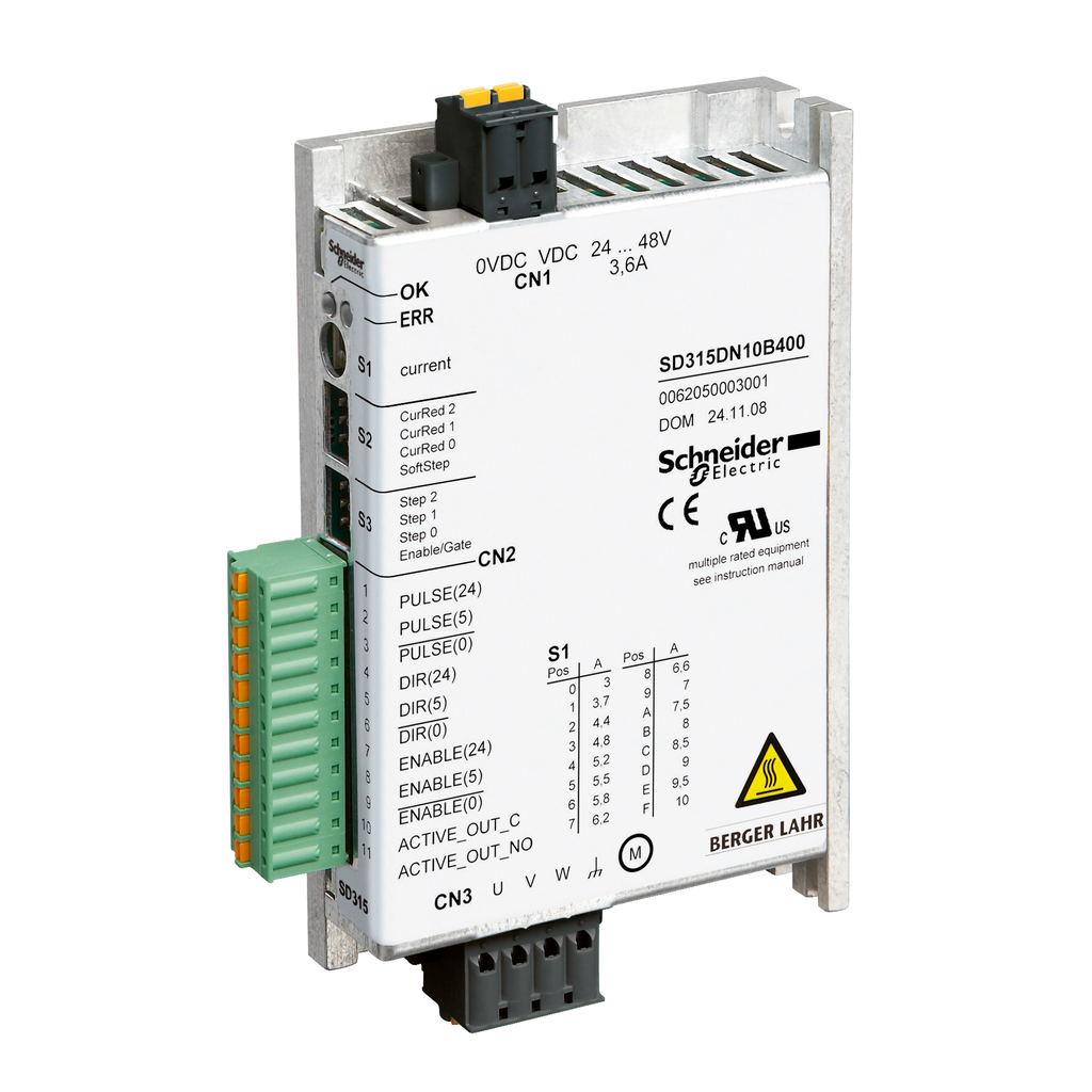 Mayer-motion control stepper motor drive - SD315 - pulse direction with oscillator-1