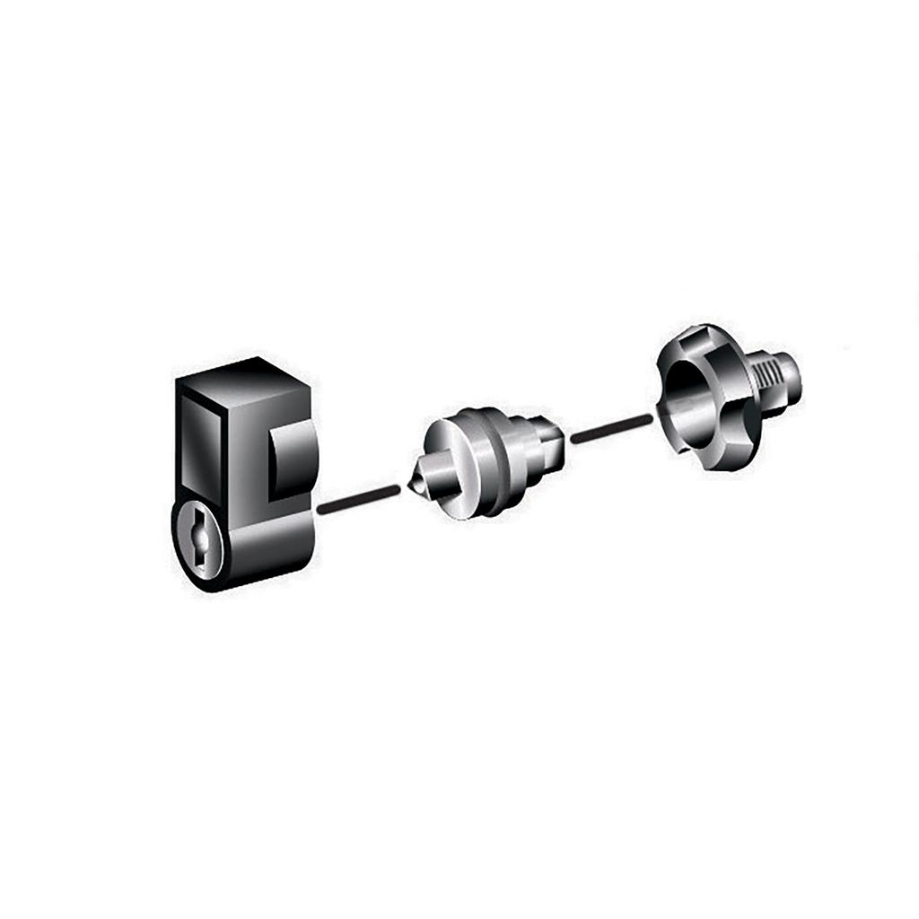 Mayer-External handle with 405 barrel & key-1