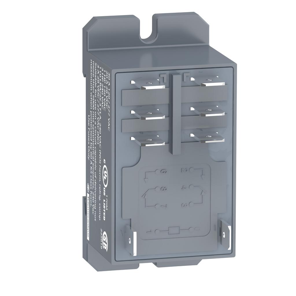 Mayer-Harmony, Power plug-in relay, 30 A, 2 CO, 24 V AC-1