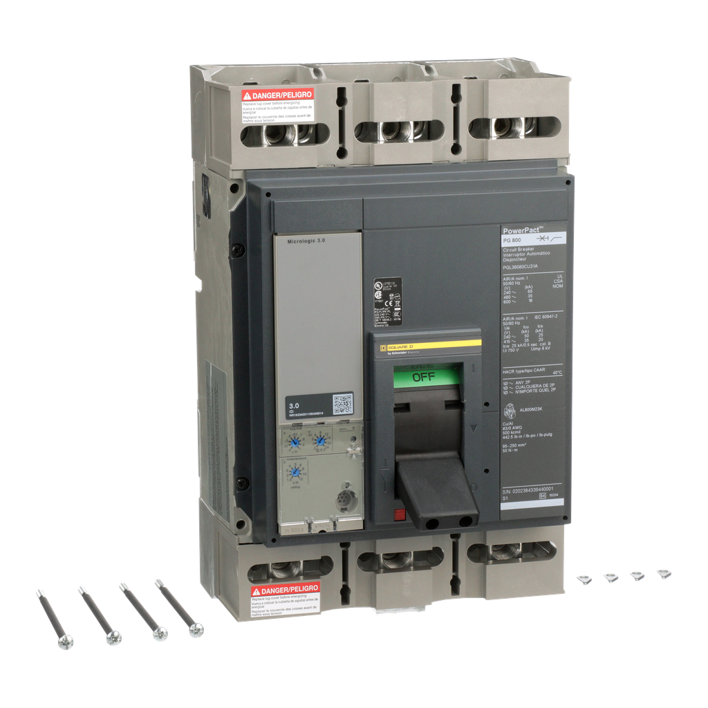 Mayer-MOLDED CASE CIRCUIT BREAKER 600V 800A-1