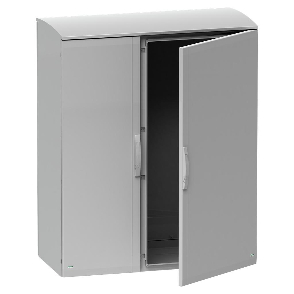Mayer-Floor standing encl. polyester vers.PLAT open top w/ canopy 1000x1250x420 IP44-1
