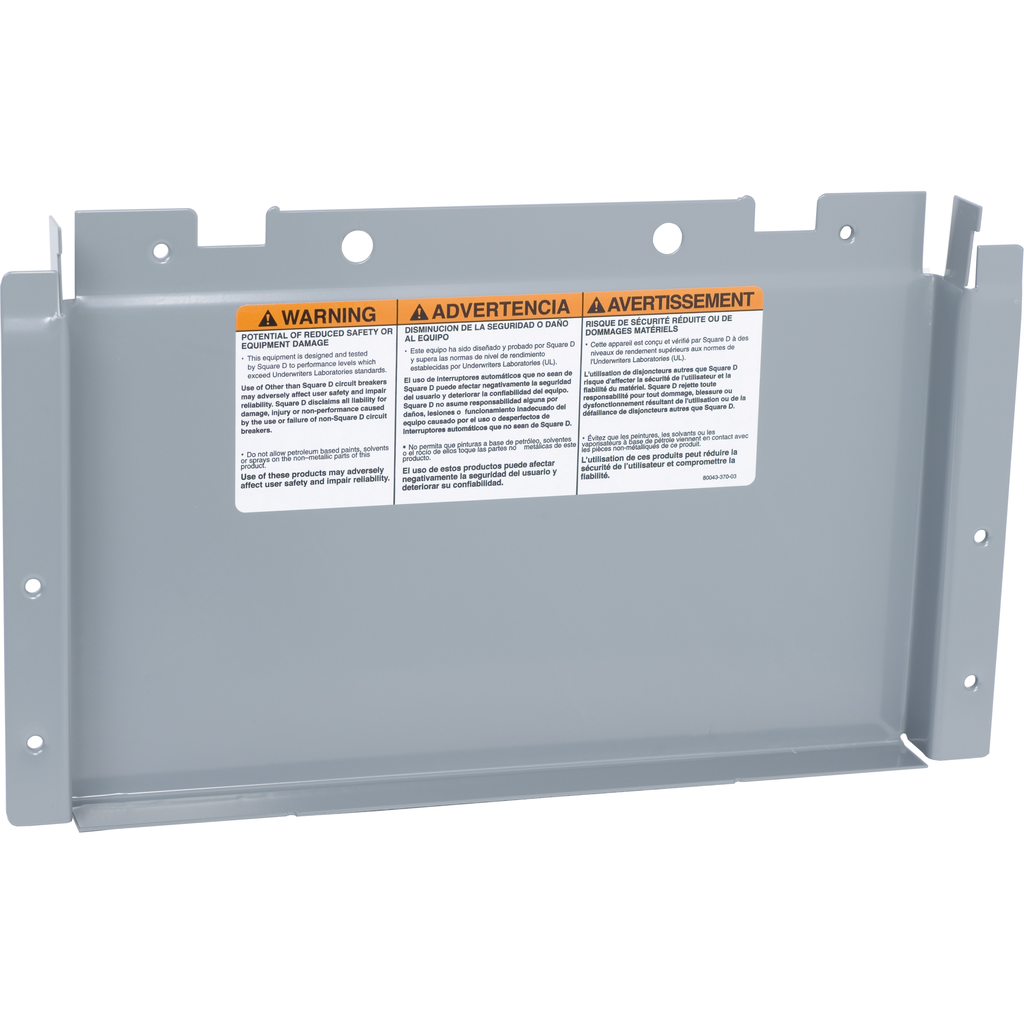 Mayer-NF Panelboard Acc. Cover 250A, Main Lug-1