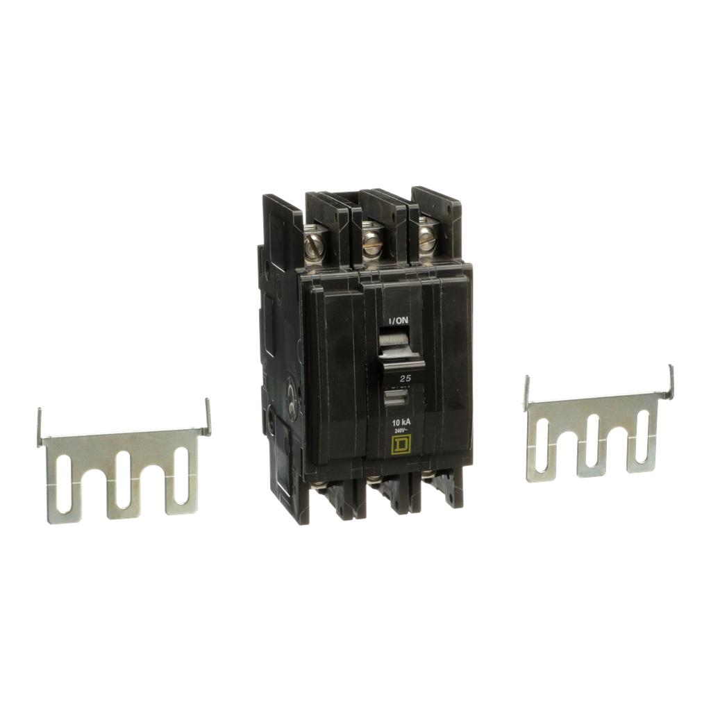 Mayer-Mini circuit breaker, QOU, 25A, 3 pole, 240 VAC, 10kA-1