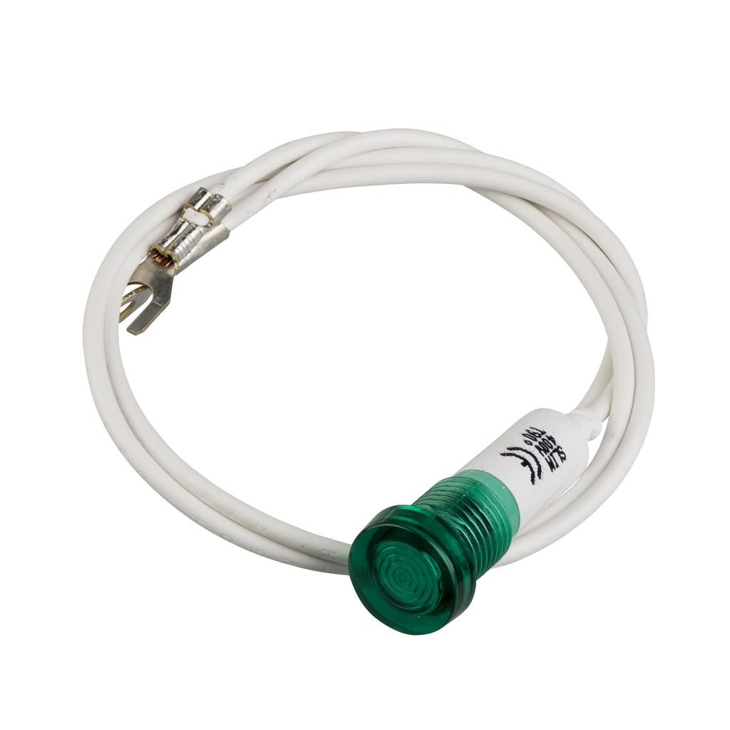 Mayer-green pilot light - TeSys GV2-SN - neon - 380...440V-1