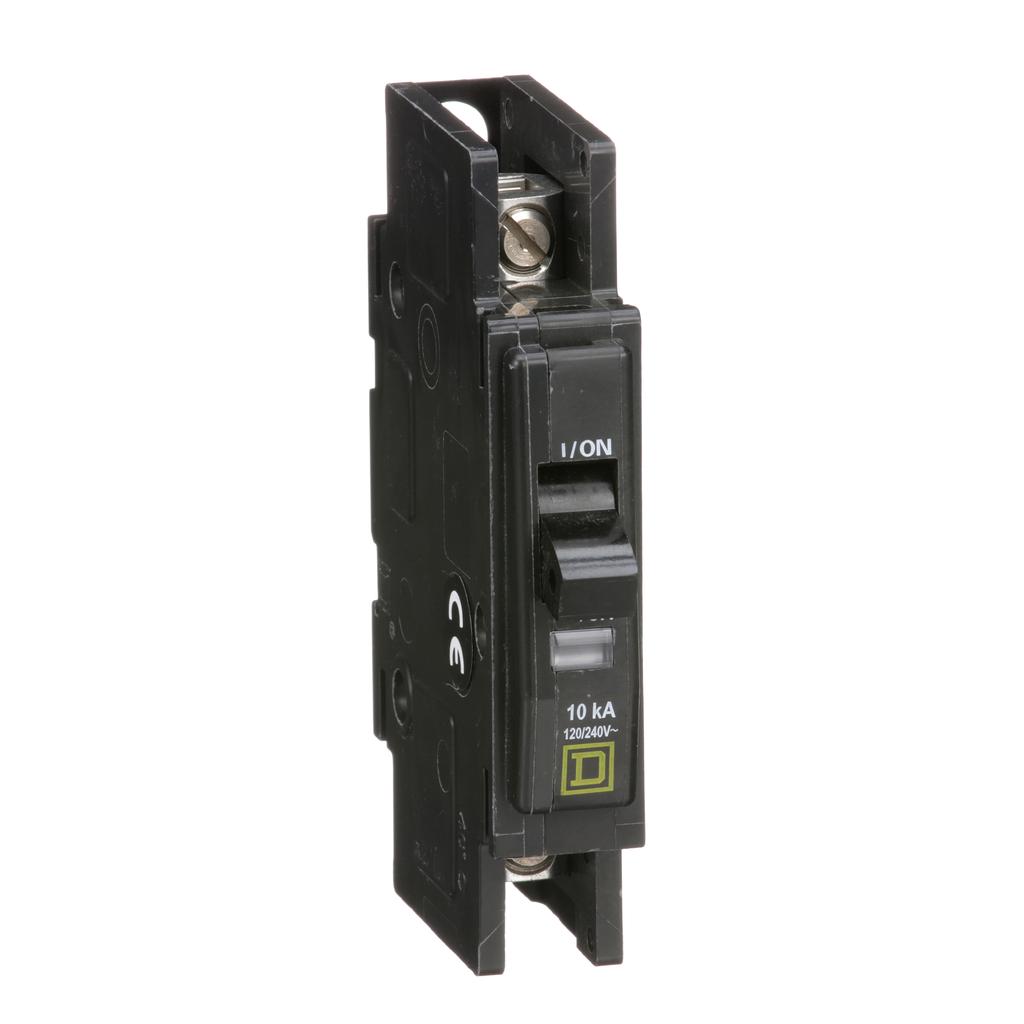 Mayer-Mini circuit breaker, QOU, 30A, 1 pole, 120/240VAC, 10kA, bulk pack-1