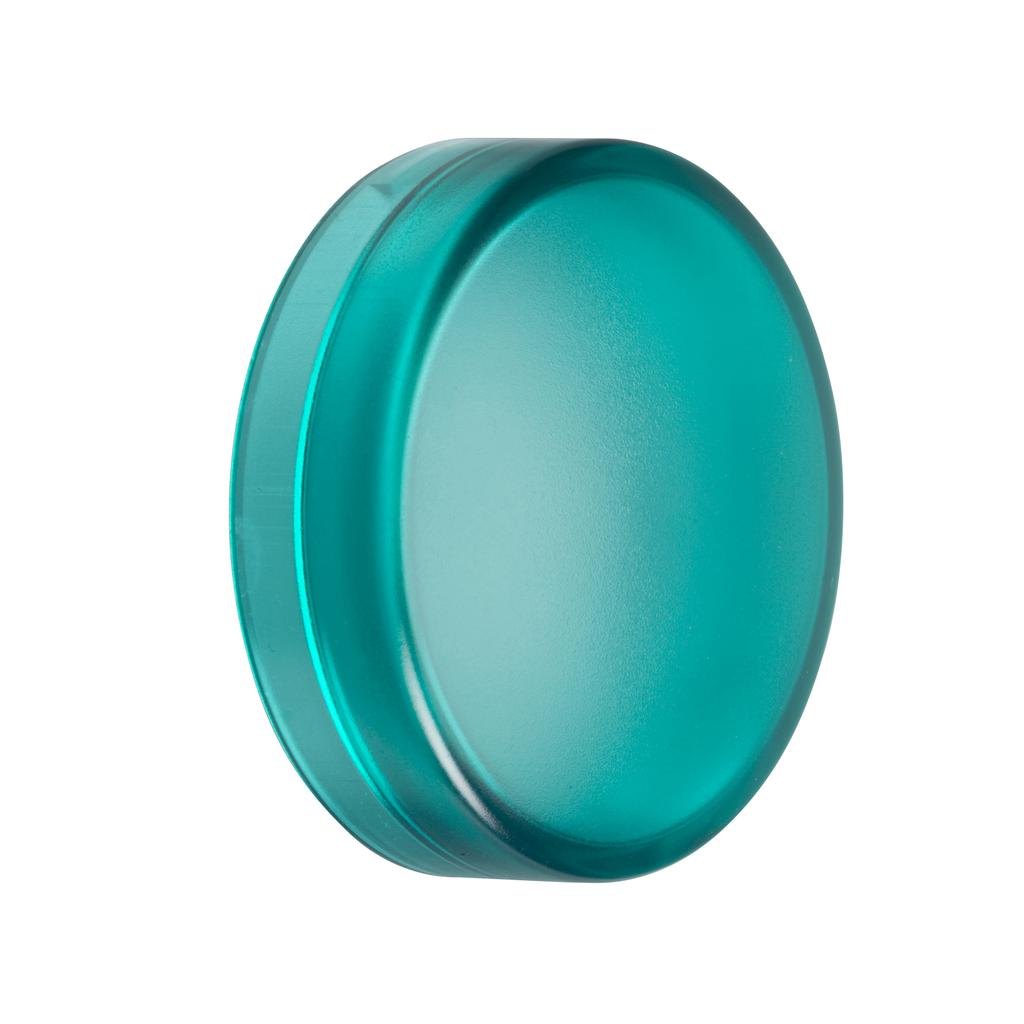 Mayer-Harmony XB4, Harmony XB5, green plain lens for circular pilot light Ø22 mm with BA9s bulb-1