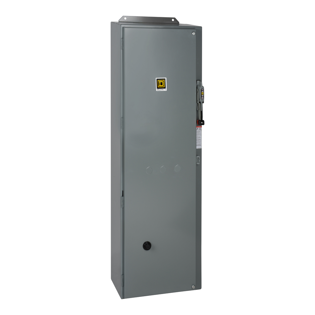 Mayer-NEMA Combination Starter, Type S, JLL electronic motor circuit protector, Size 4, 135A, 3 phase, 120 VAC coil, NEMA 1-1