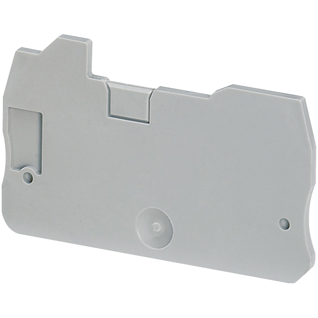 Mayer-END COVER, 2PTS, 2,2MM WIDTH, FOR HYBRIDE SCREW-IDC TERMINALS NSYTRH1-1