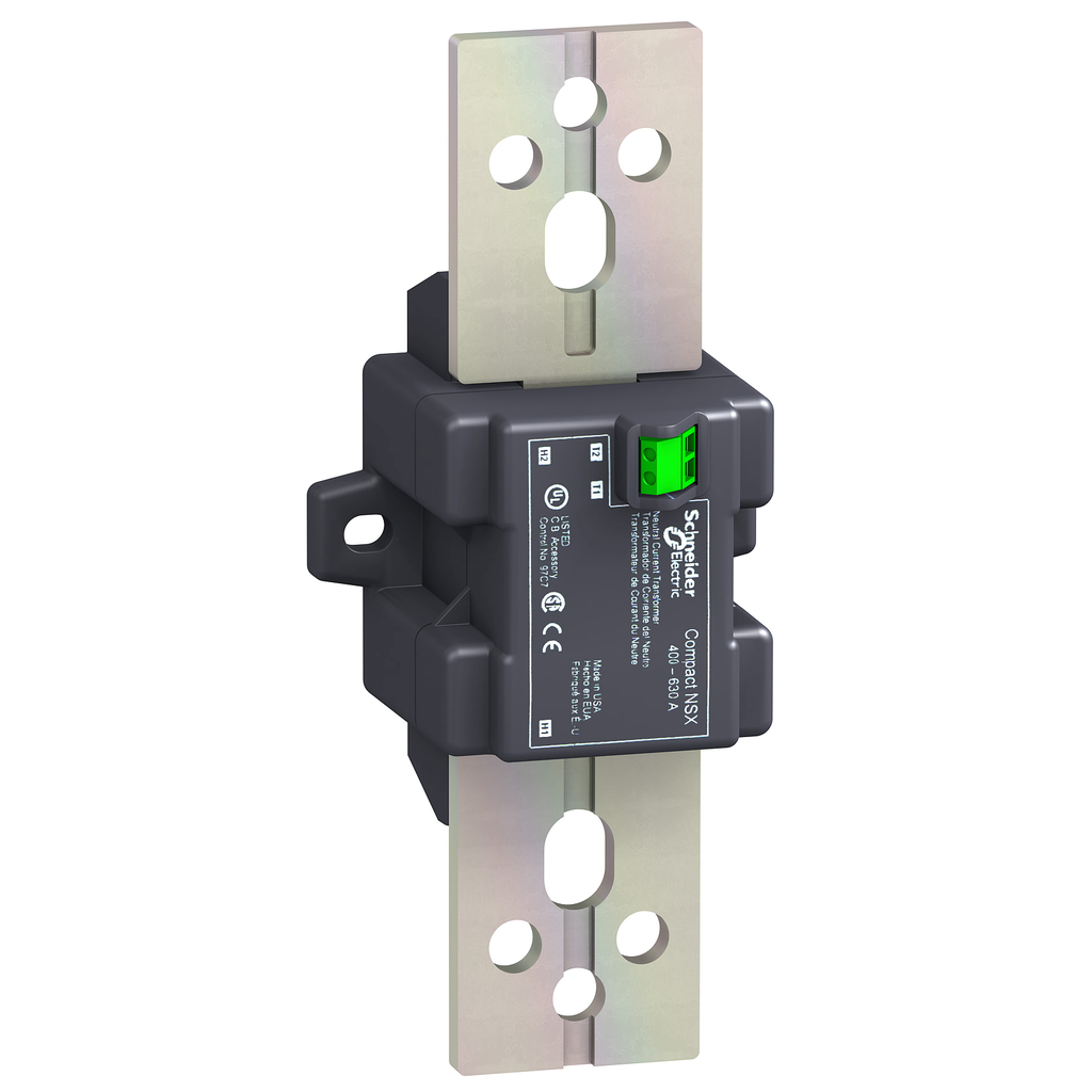 Mayer-external neutral current transformer, ComPact NSX400/630, 400 A to 630 A, 3 poles circuit breakers with Micrologic 5/6 trip unit-1