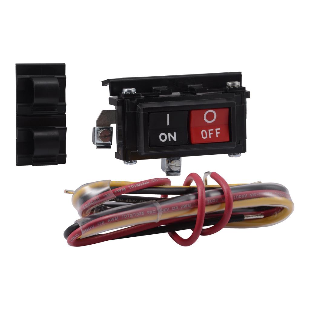 Mayer-NEMA Motor Starter and contactor, Type S, on/off push button kit, NEMA 1-1